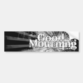 Good Mourning Sticker