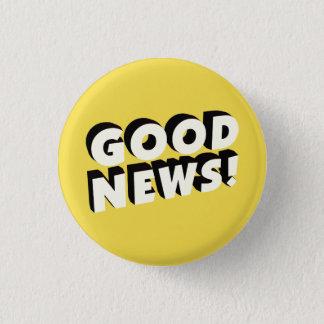 Good News! 1 Inch Round Button