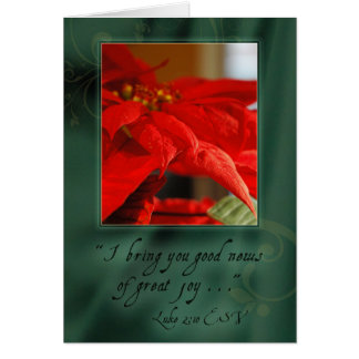 Good News of Christmas Greeting Card