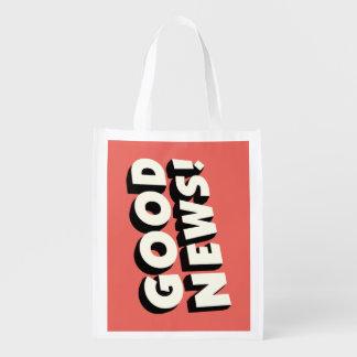 Good News! Reusable Grocery Bag
