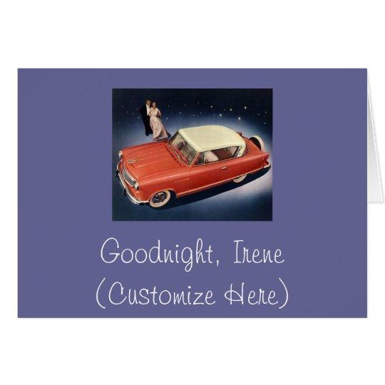 """Good Night, Irene!"" Card"