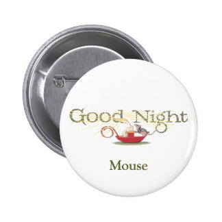 Good Night Mouse and Candle Button