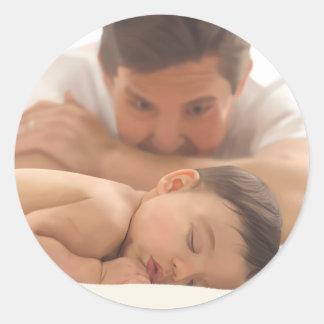 Good Night Princess Classic Round Sticker