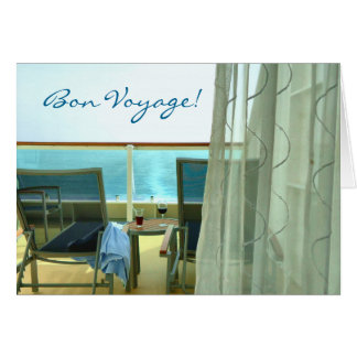 Good on Board Custom Bon Voyage Card