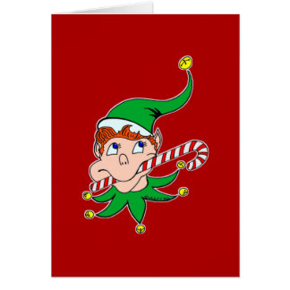 Good Pixie Greeting Card