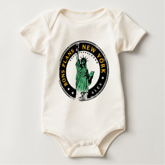 Good Plans for a voyage to New York Baby Bodysuit