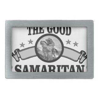 good Samaritan art bible Rectangular Belt Buckles