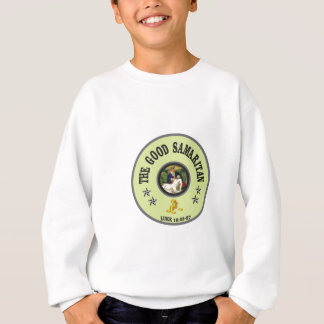 good samaritan green back sweatshirt