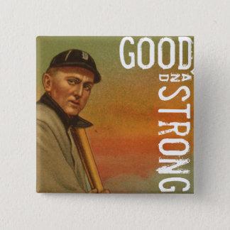 Good & Strong 2 Inch Square Button