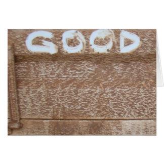 Good 'Tailgate Talk' Greeting Card