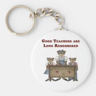 Good Teachers are Long Remembered Keychain