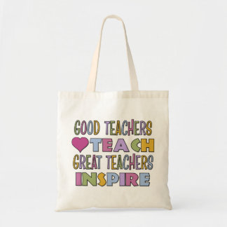 Good Teachers Teach Tote Bag