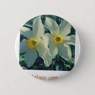 good things come in pairs 2 inch round button