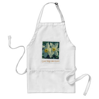 good things come in pairs standard apron