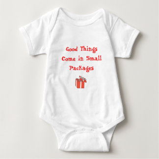 Good Things Come in Small Packages Baby Bodysuit