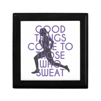 Good Things Come to Those Who Sweat Gift Box