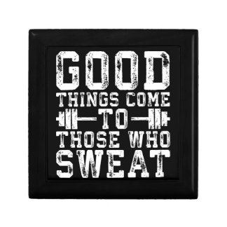 Good Things Come To Those Who Sweat - Inspiration Gift Box