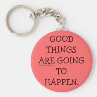 Good Things Keychain