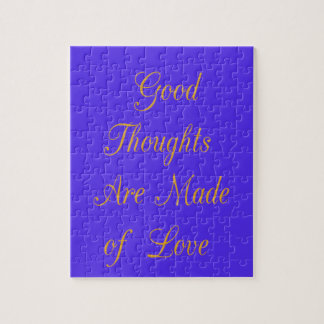 Good Thoughts are Made of Love Puzzles