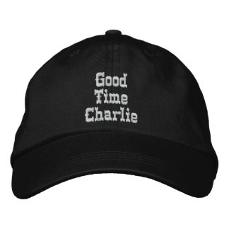 GOOD TIME CHARLIE cap Embroidered Hat