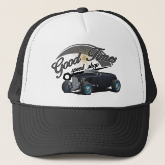 Good Times Hot Rod Trucker Hat