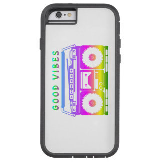 Good Vibes 80's Style Tough Xtreme iPhone 6 Case