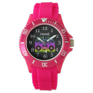 Good Vibes 80's Style Watch