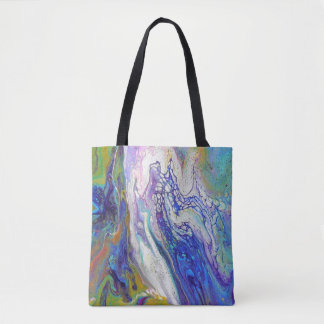 Good Vibes Acrylic Pour All Over Tote