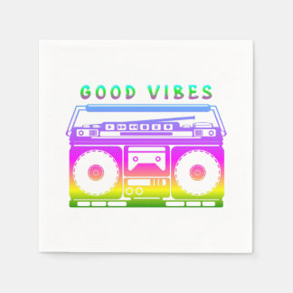 Good Vibes Disposable Napkins