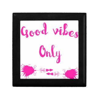 Good vibes jewelry box