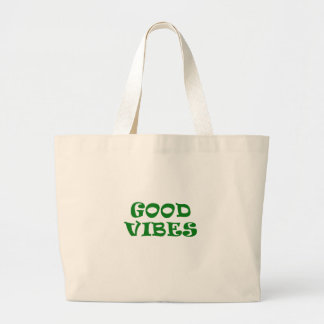 Good Vibes Large Tote Bag