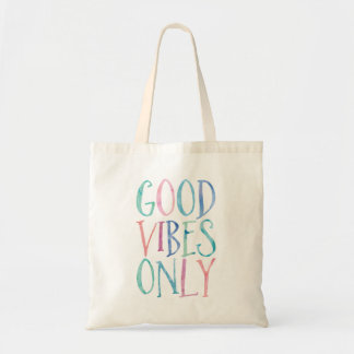 Good Vibes Only - Colorful Watercolor Typography