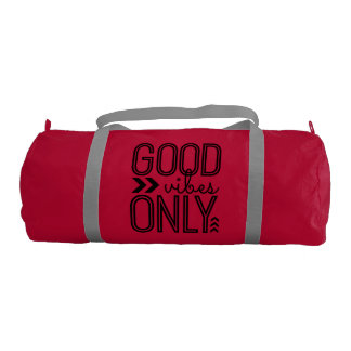Good Vibes Only - Gym Duffle Bag