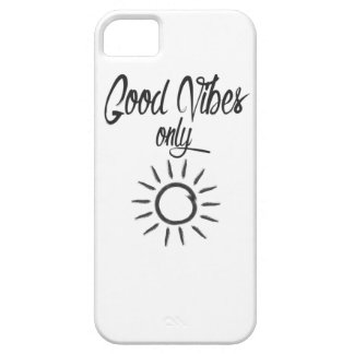 Good Vibes Only iPhone 5 Case