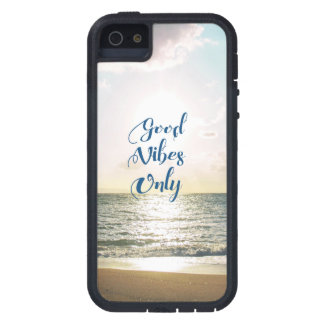 """""""Good Vibes Only"""" Quote Be Positive, Sea Beach Sun iPhone 5 Covers"""