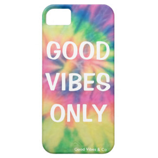 Good Vibes Only Tie Dye Phone Casei Case For The iPhone 5