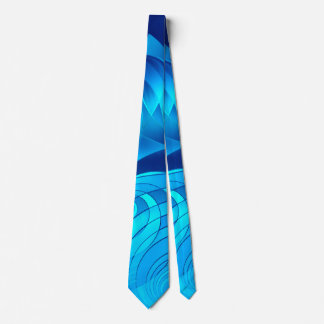 Good Vibes Only Whirl (blue) Tie