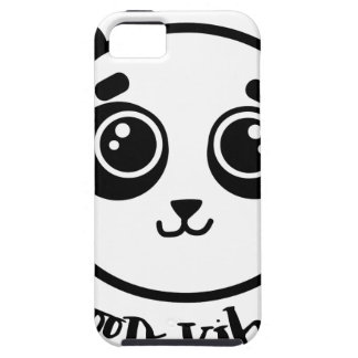 Good Vibes Panda Case For The iPhone 5