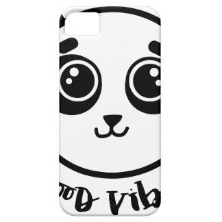 Good Vibes Panda iPhone 5 Covers