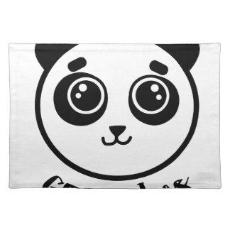 Good Vibes Panda Placemat
