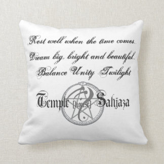 """Good Vibes"" pillow"