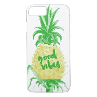 Good Vibes Pineapple Case