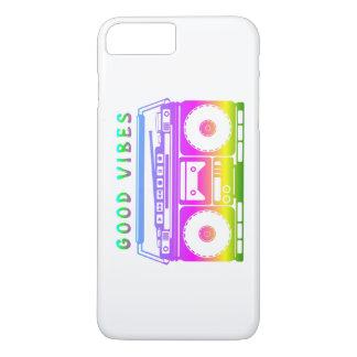 Good Vibes Retro Stereo iPhone 8 Plus/7 Plus Case
