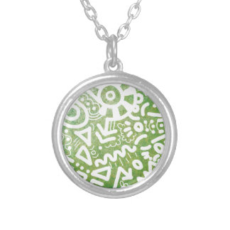 Good Vibes Silver Plated Necklace