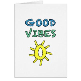 Good Vibes South West Sun Card