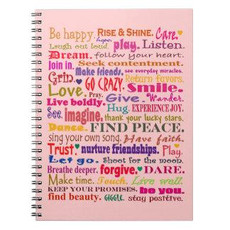 good vibrations notebook
