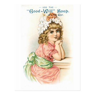 Good Will Soap Postcard