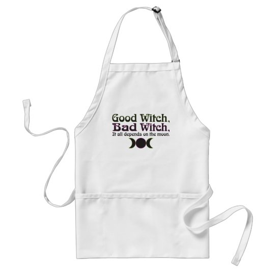 """Good Witch, Bad Witch..."" Aprons"