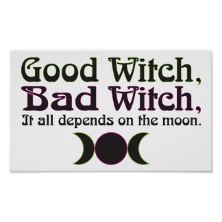 """""""Good Witch, Bad Witch..."""" Print"""
