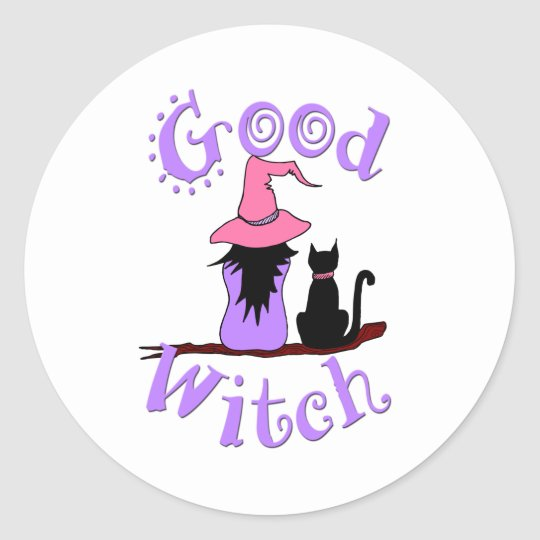 Good Witch Classic Round Sticker
